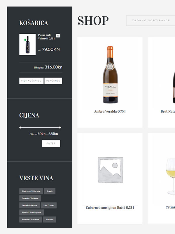 Vinoteka web shop